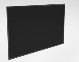 tv flat game-ready 3d model
