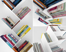 books set 3d