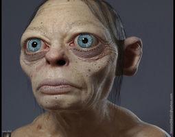 Gollum Fan Art 3D