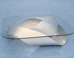 modern mobius table 3d