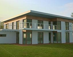 minimalist modern house 3d