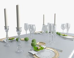3D model Table ware 1