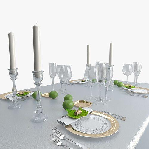 table ware 1 3d model max obj mtl 1