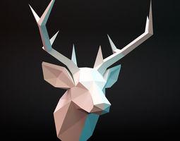 head deer  3d