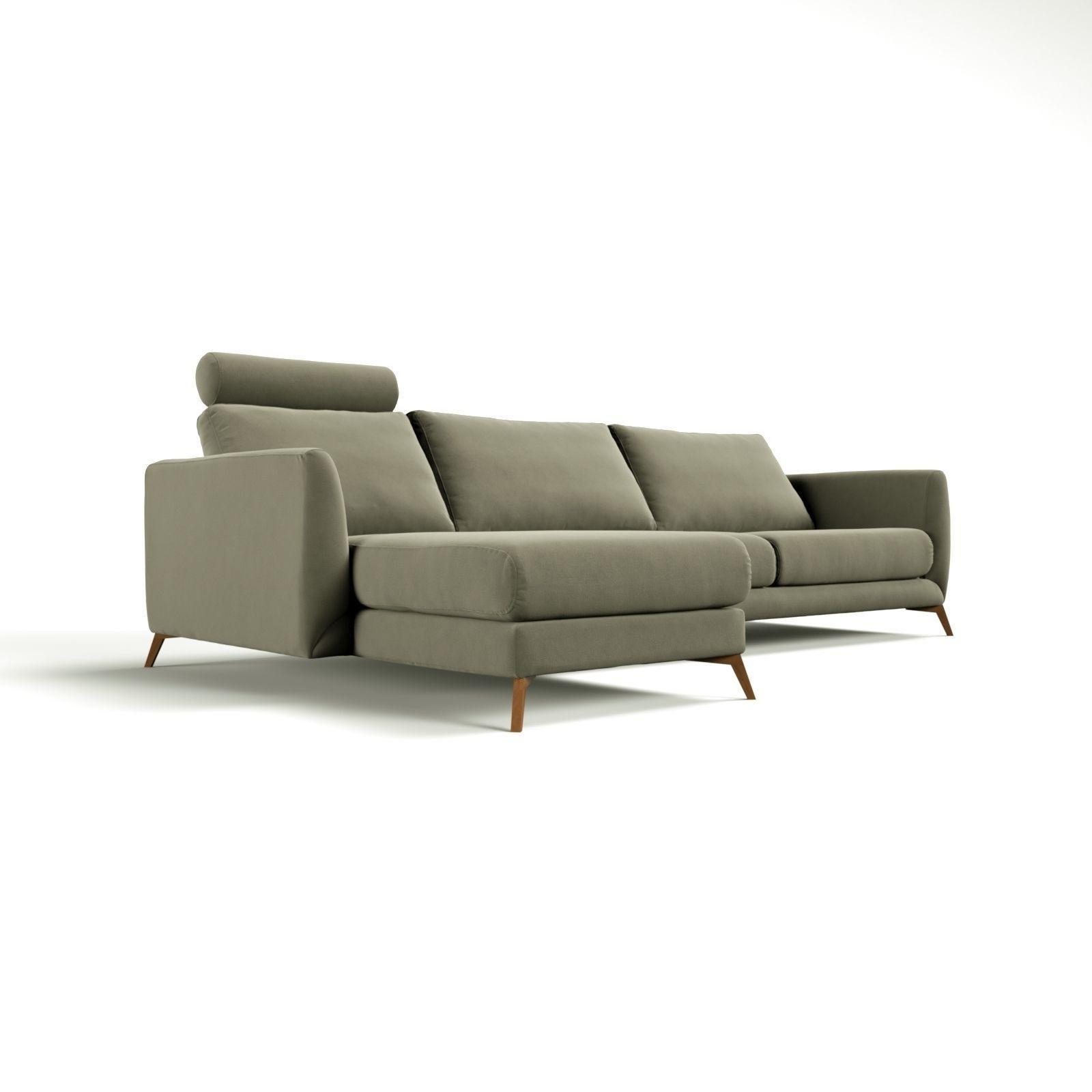 boconcept fargo sofa 3d model max. Black Bedroom Furniture Sets. Home Design Ideas