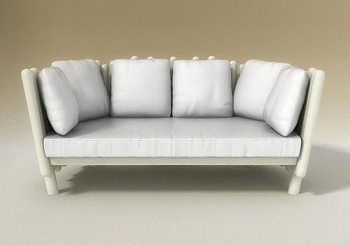 3d model canisse divano sofa serralunga cgtrader for Serralunga furniture