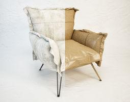 DIESEL Cloudscape armchair by Moroso 3D Model