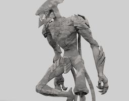 3D printable model monster