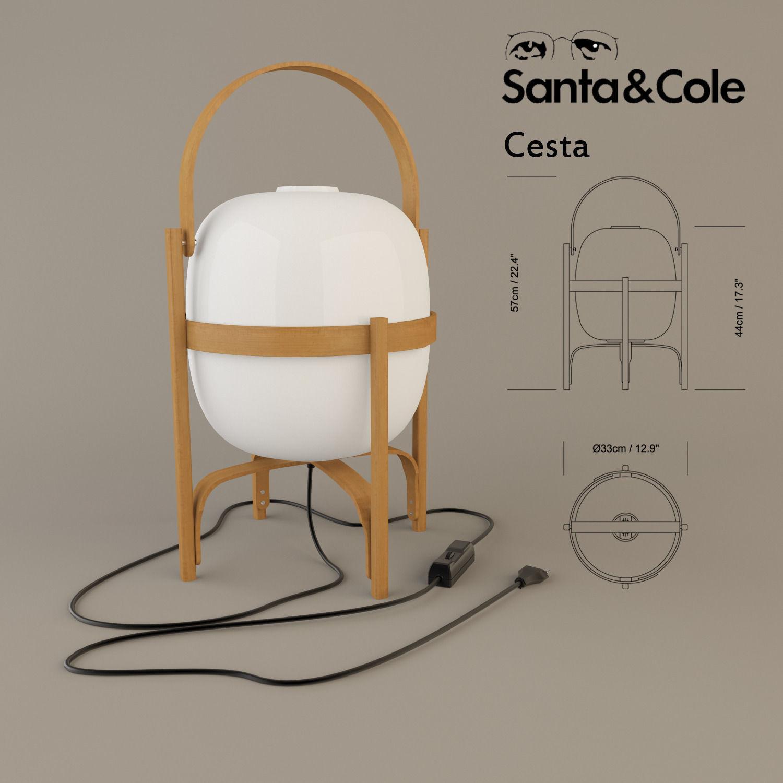 Description comments 0 cesta santa and cole 3d model cesta santa cole