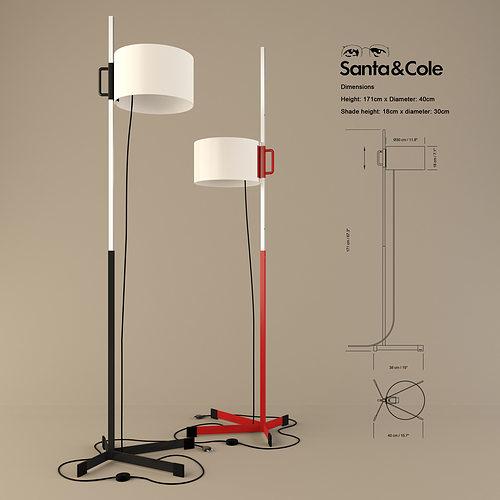 Tmc santa and cole 3d model 3ds cgtrader com