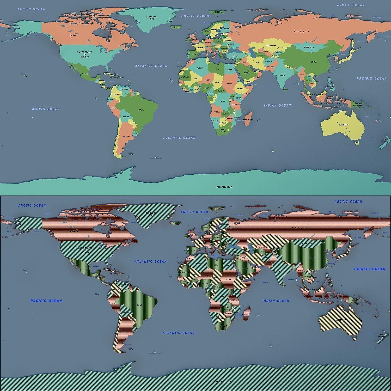 world map 02