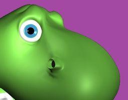 Cartoon Dinosaur 3D