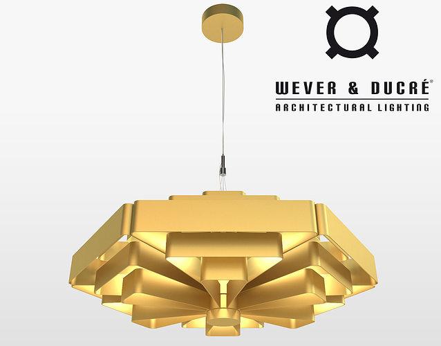 wever ducre jules wabbes modern chandelier 3d model max obj fbx mtl 1