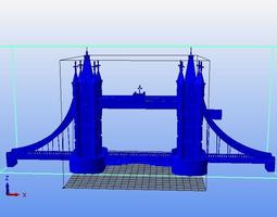 3d printable model bridge london