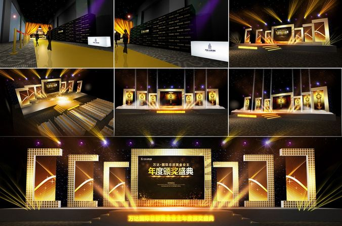Concert Stage Design Ideas posted concert stage design Concert Stage Design 03 3d Model