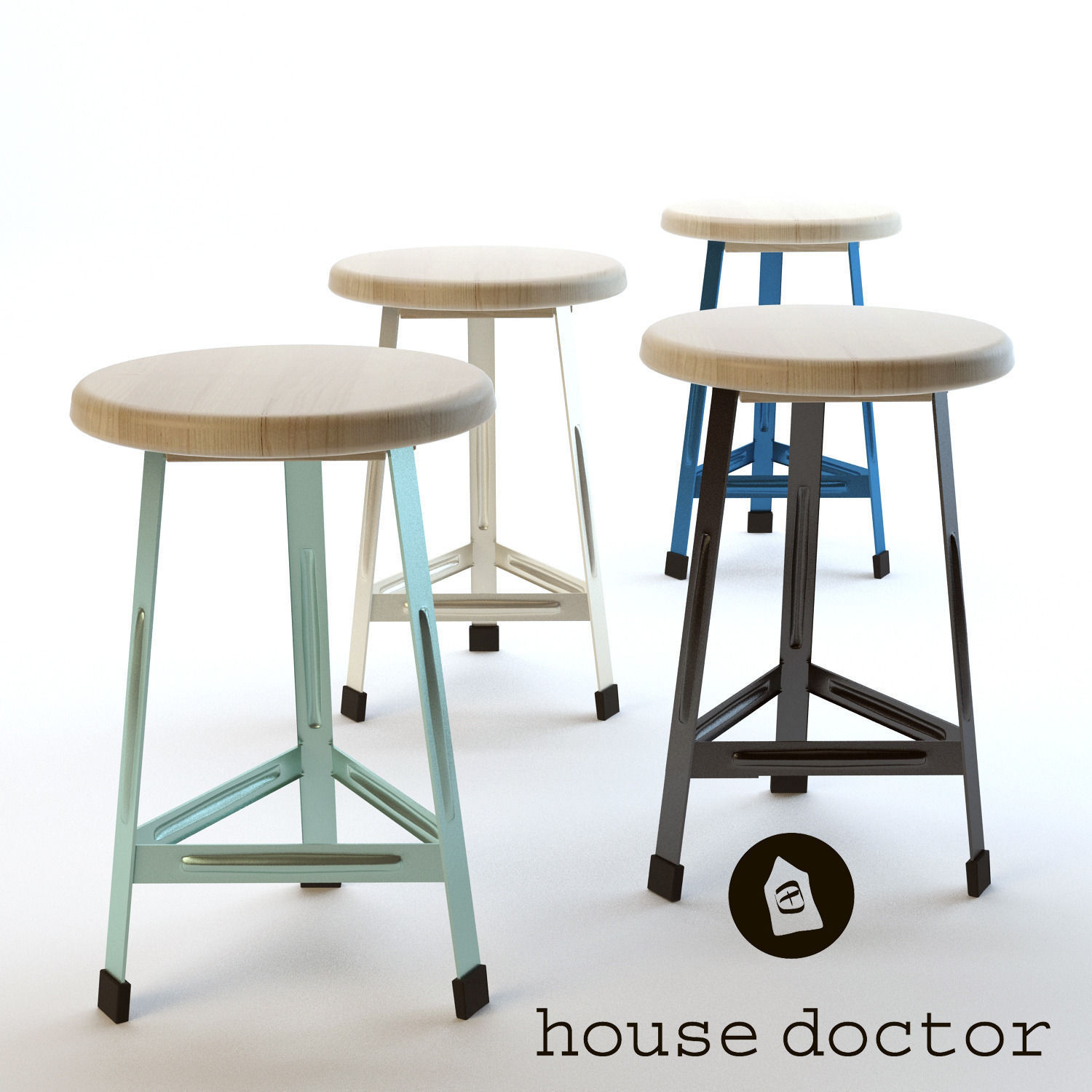 Perfect Chair House Doctor 3d Model Max Fbx 1 ...