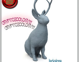 Jackalope Cryptozoology STL Printable