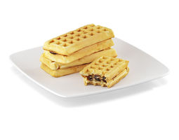 waffles with filling 3d model