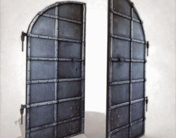 3D model Old Basement Door