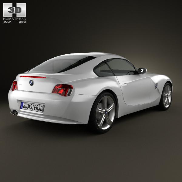 Bmw Z4 2002: BMW Z4 E85 Coupe 2002 3D Model MAX OBJ 3DS FBX C4D LWO LW