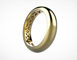 Pattern ring size 57 3D printable model