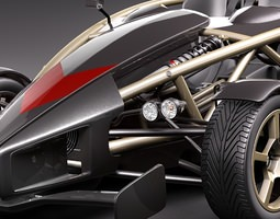 Ariel Atom 500 V8 3D Model