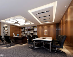 desk Office 3D model