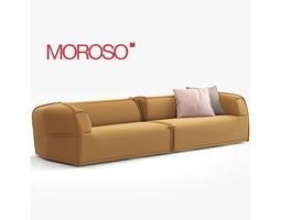 3D model Massas Moroso Modern Sofa