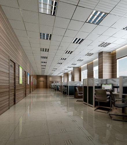 office 3d model max obj mtl blend 1