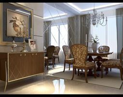 Interior Design room architectural 3D
