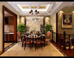 3D Interior Design luxury-interior hotel