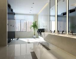 3d stylish interior design 034