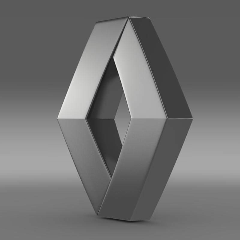 Renault Logo: 3D Model Renault Logo