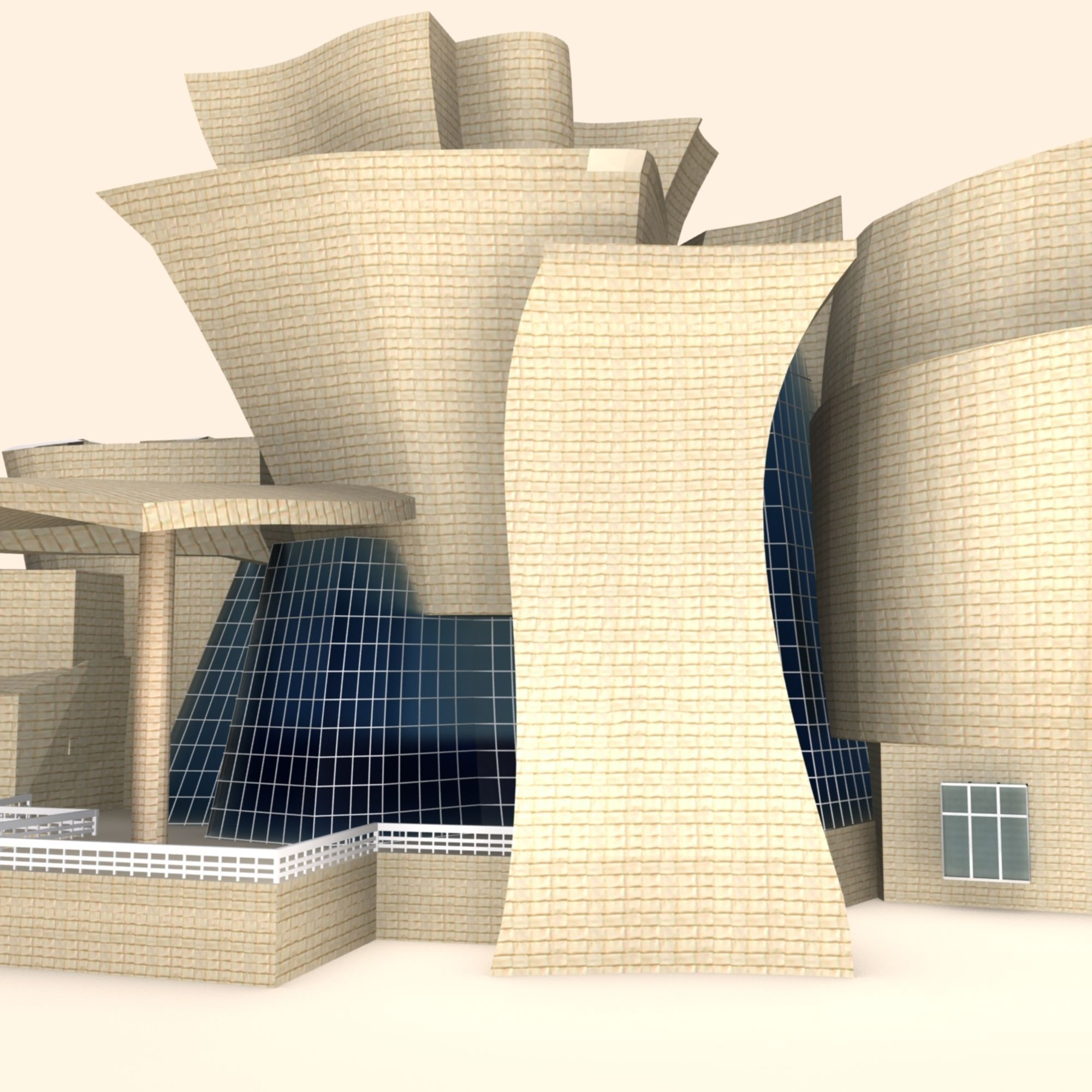 Museum 3d model free download