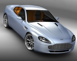 Aston Martin v8 3D Model