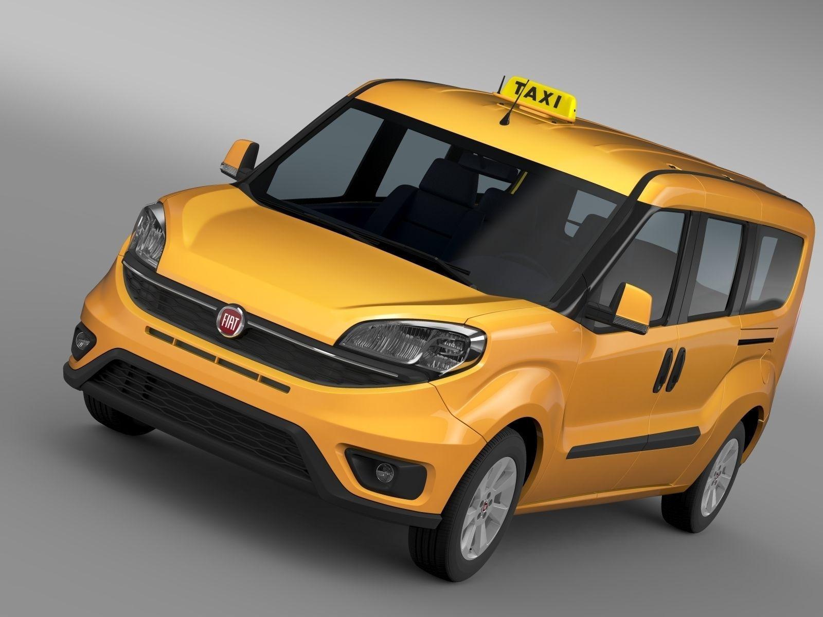 Fiat Doblo Maxi Taxi 152 2017
