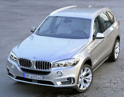 bmw x5 f15 2015 3d animated