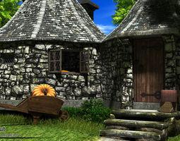 3D Hagrid Hut