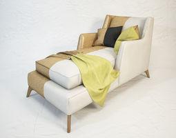 3D VIBIEFFE Class 680 lounge armchair