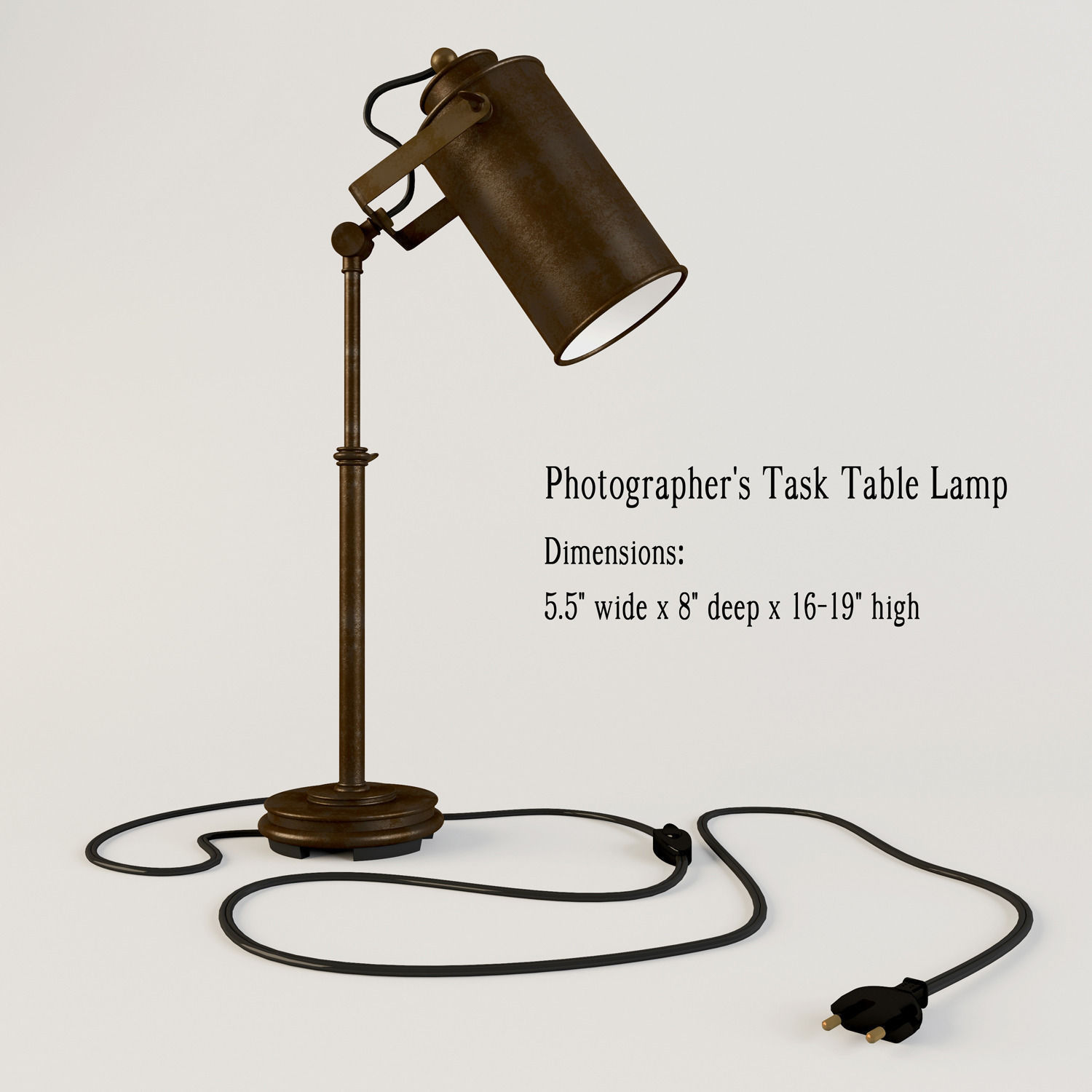 3d model photographer task table lamp cgtrader photographer task table lamp 3d model max obj 3ds 1 aloadofball Gallery