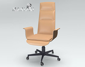 Office Armchair i4 Mariani Wing 3D model