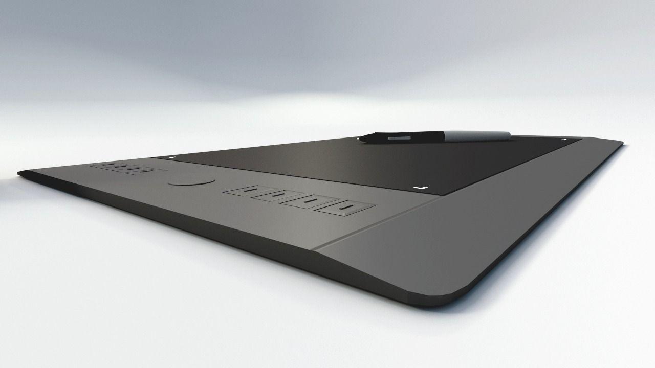 Wacom Intuos Pro M Free 3d Model On Behance - Imagez co