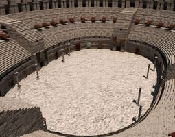 3D The Roman Colosseum