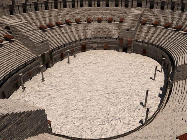 the roman colosseum 3d model ma mb 1
