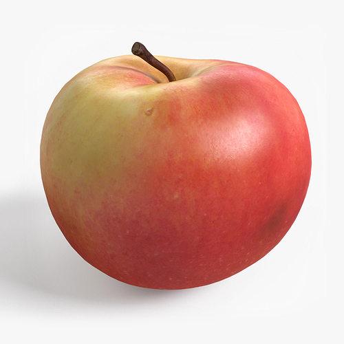 apple 3d model max obj mtl 3ds fbx stl unitypackage prefab 1