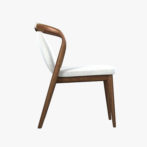 ... enne feat dining chair 3d model max obj 3ds fbx mtl unitypackage 4 ...  sc 1 st  CGTrader & Enne feat dining chair 3D | CGTrader