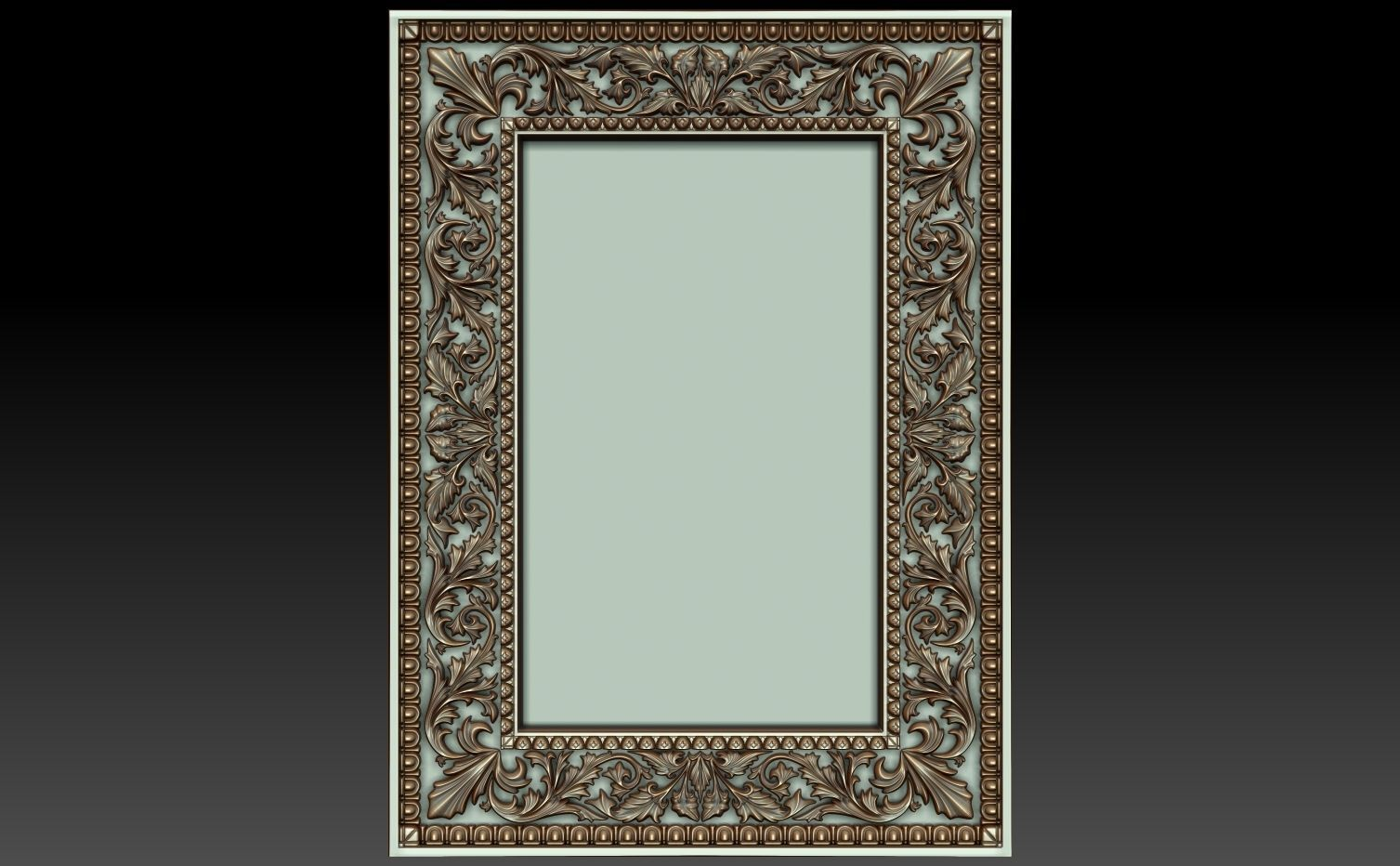 Decorative frame 3 3D | CGTrader