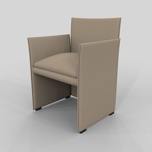 ... Chair 401 Break Mario Bellini 3d Model Max 2 ...