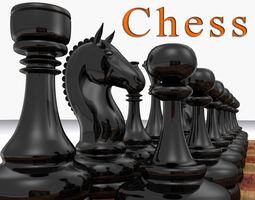 The Ultimate Chess Pack - 3d model