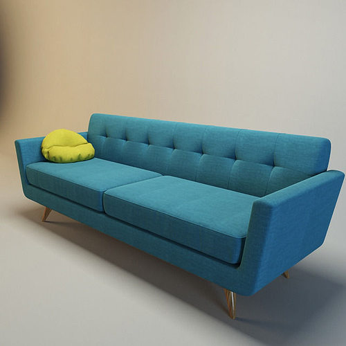 Nixon sofa 3d model cgtrader for Edit 03 sofa